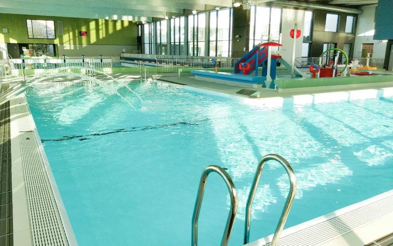 L'effet Bleu, piscine à Saint Romain de Colbosc